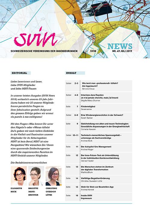 SVIN Newsletter ist online
